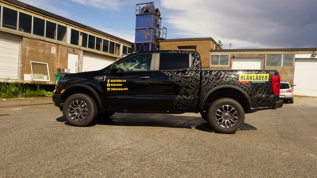 Give your vehicle a makeover with partial wrap & graphics - Blaklader - Vinyl Wrap Toronto - Branding Centres - After Image