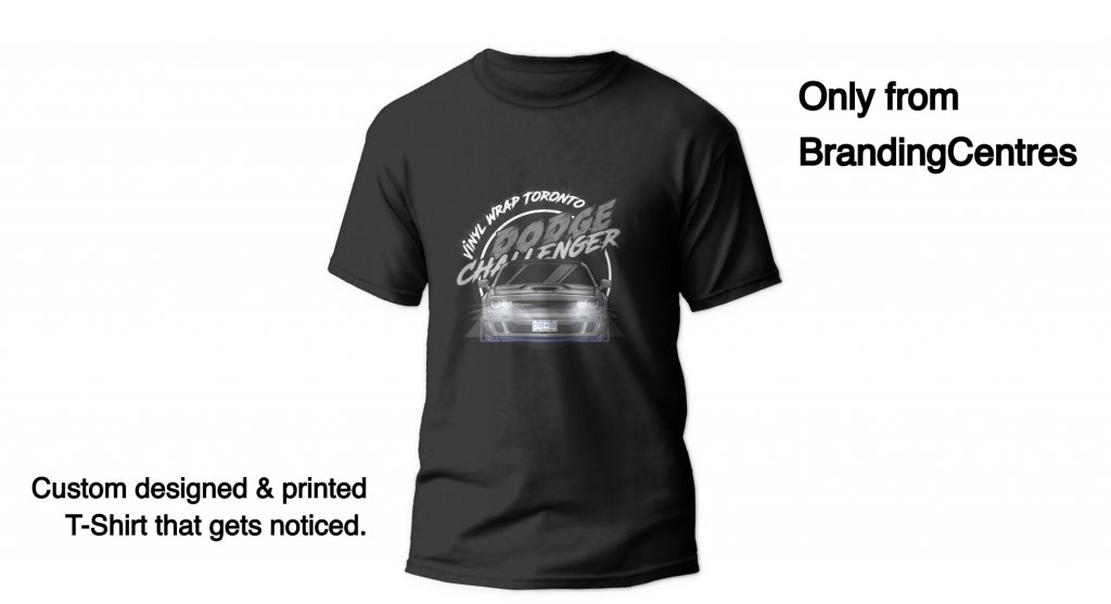 T Shirt Mockup - Apparel Centre - Heat Transfer - Branding Centres