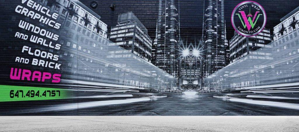 Wall Graphics - Premium Quality wall wraps - Avery Dennison & 3M wraps - Branding Centres