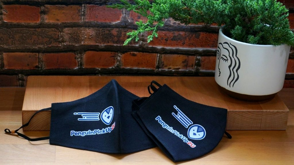 CUSTOM SAFETY VESTS FOR THE EMPLOYEES – Penguin Pick up - Branding Centres - Customized Masks
