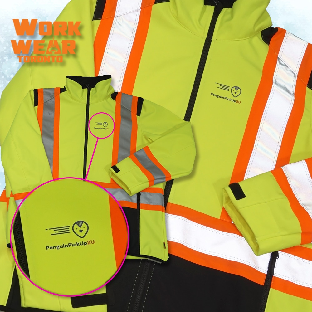 CUSTOM SAFETY VESTS FOR THE EMPLOYEES – Penguin Pick up - Branding Centres