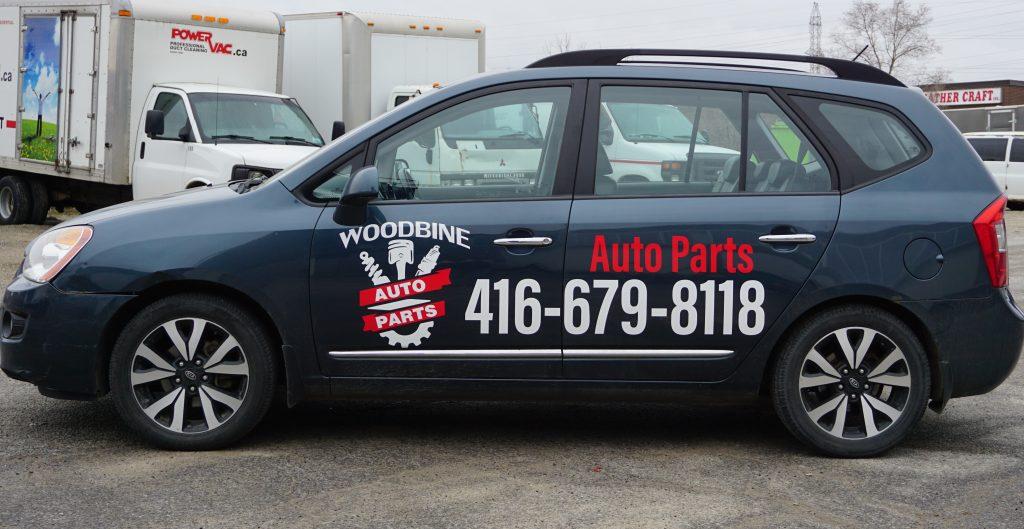Custom Branding like a Pro in 2021 - Woodbine Auto Parts - Branding Centres - Branding Specialist - Branding agency Toronto - Vehicle Wrap - Vinyl Wrap Toronto - Commercial Wrap
