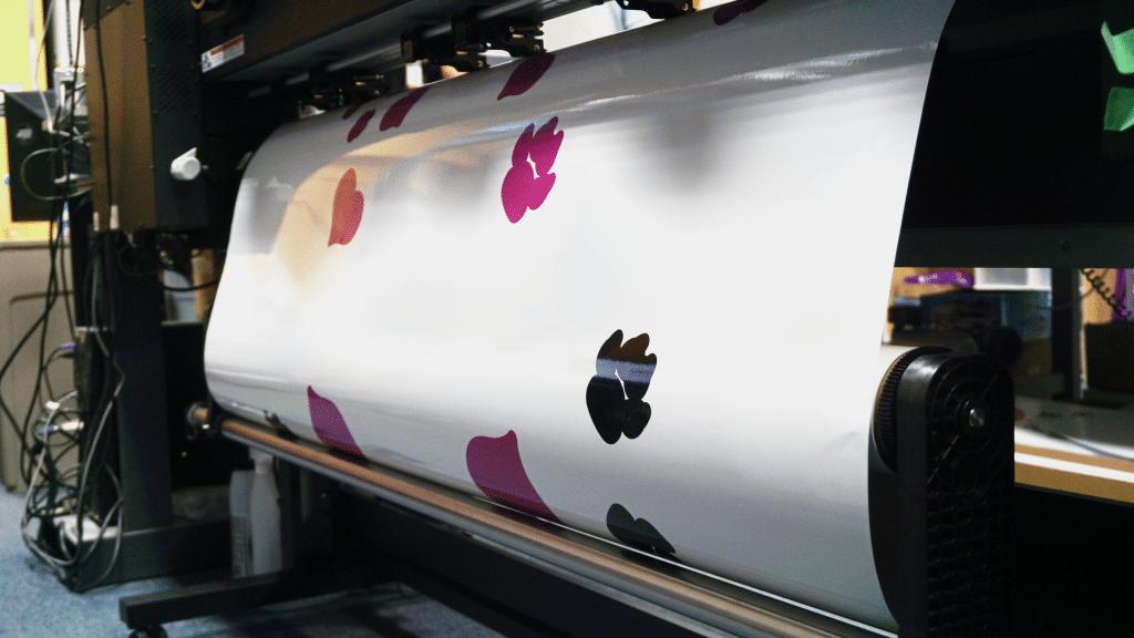Vinyl printing process
