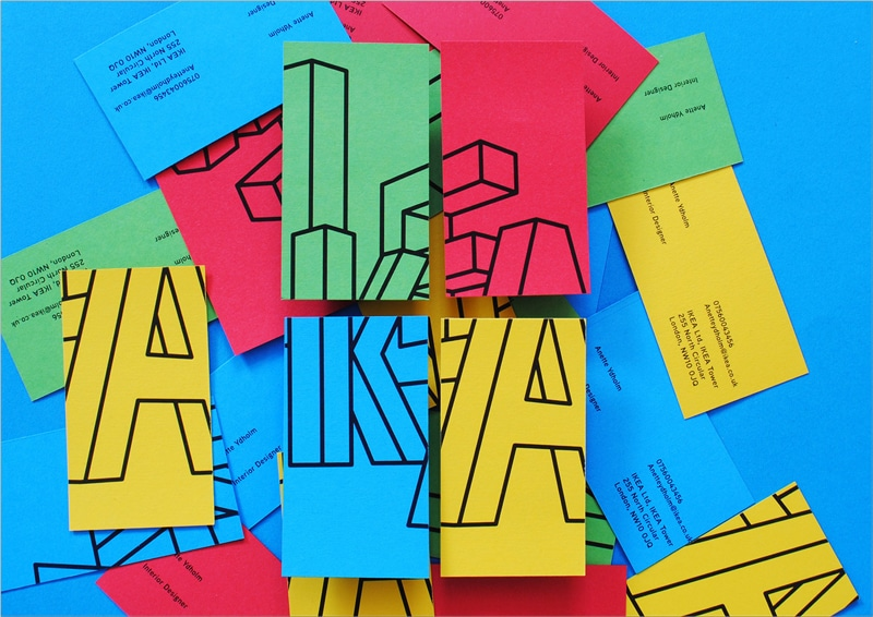 8 Unique Business Cards Ideas to Stand Out - Colorful Business Cards - Branding Centres