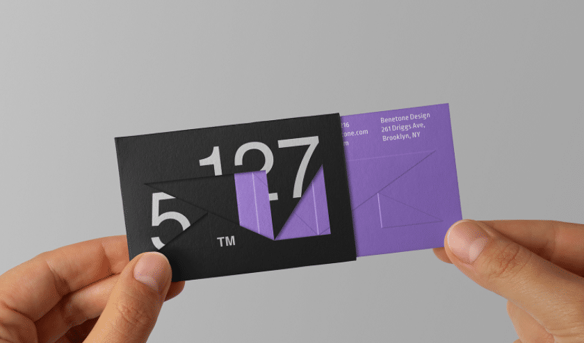 8 Unique Business Cards Ideas to Stand Out - Cutout Business Cards - Branding Centres