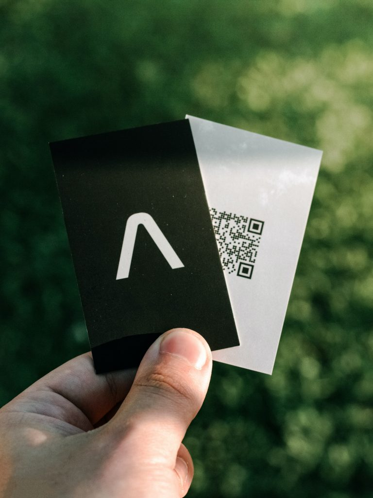 8 Unique Business Cards Ideas to Stand Out - QR Code Business Cards - Branding Centres