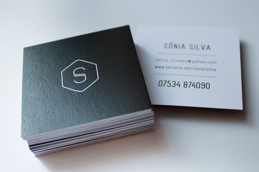 8 Unique Business Cards Ideas to Stand Out - Square Business Cards - Branding Centres
