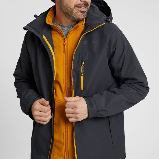 3-in-1 Jackets with your custom logo - Custom Embroidery, Heat Press and Screen Printing in GTA - Branding Centres