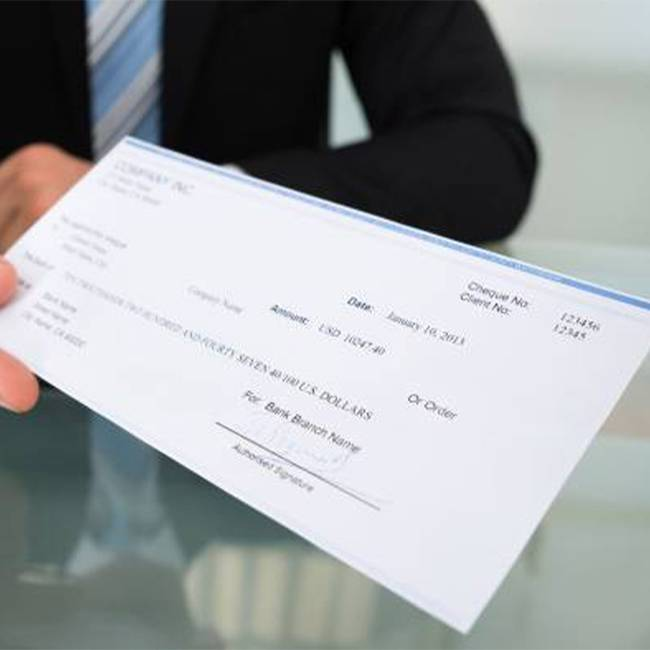 Custom Bank Cheque Printing - Toronto - Printing Services in GTA - Branding Centres