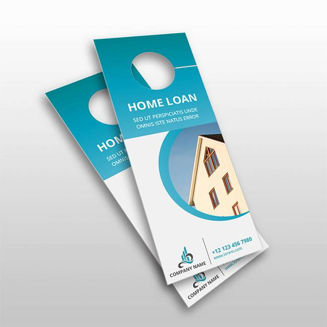 Custom Designed Promotional Door Hangers in GTA Toronto - Premium Printing Products and Services - BC