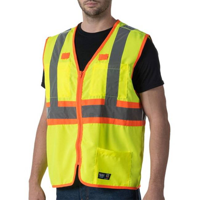Custom High Visibility Safety Vests with your logo - Custom Branded Work Clothes in Toronto - Branding Centres