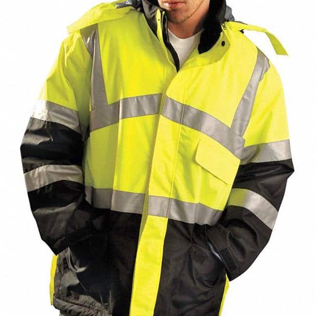 High Visibility Jackets with your logo - High Vis Jackets in Toronto - Embroidery and Heat Press