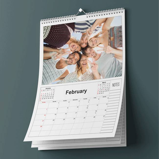 Promotional Wall Calendars in GTA - Custom Branded Stationery Promotional Items - Branding Centres