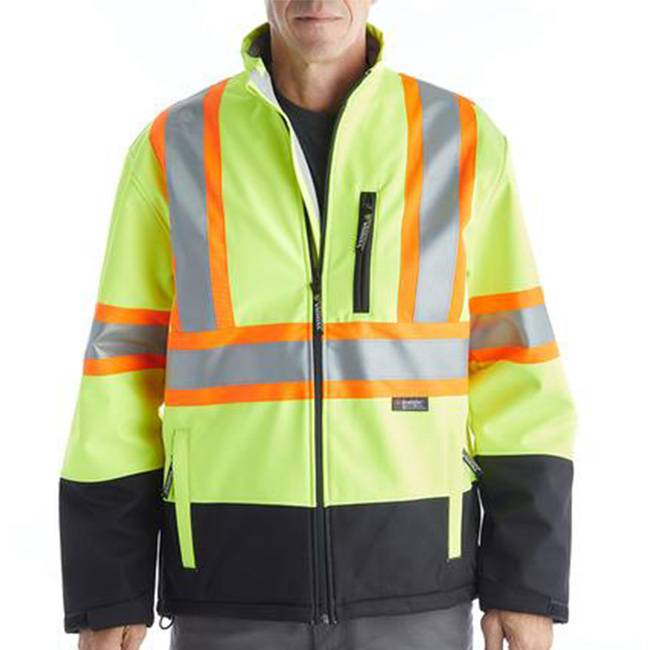 Safety Jackets branded with your logo - Custom Branding in Toronto - Embroidery, Heat Press and Screen Printing