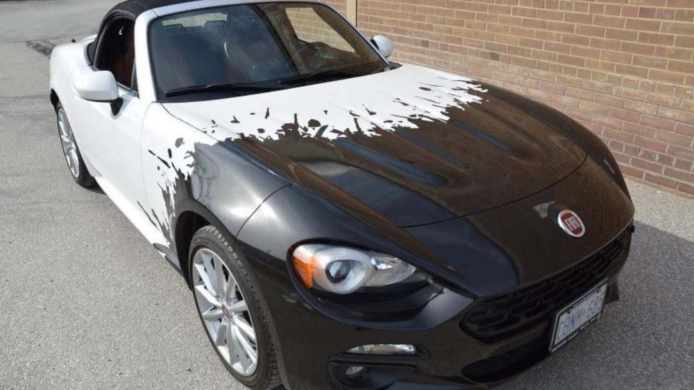 Car-Wrap-Toronto-Avery-Dennison-Supreme-Wrapping-Film-3M-Fiat-Car-Wrap-Fiat-Spider-124-Partial-Wrap-_ Branding Centres