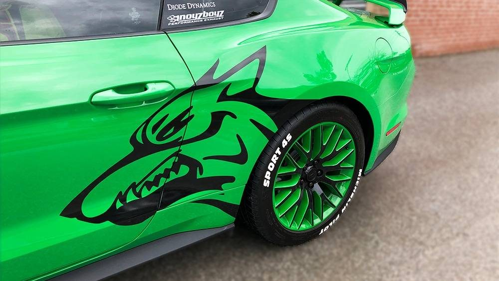 Ford Mustang Coyote Decals - Vehicle Wrap in Toronto - Branding Centres