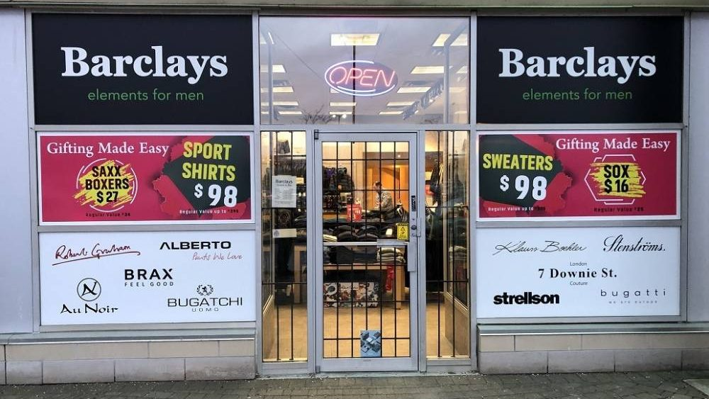 Storefront Signs - Avery and 3M - Branding Centres