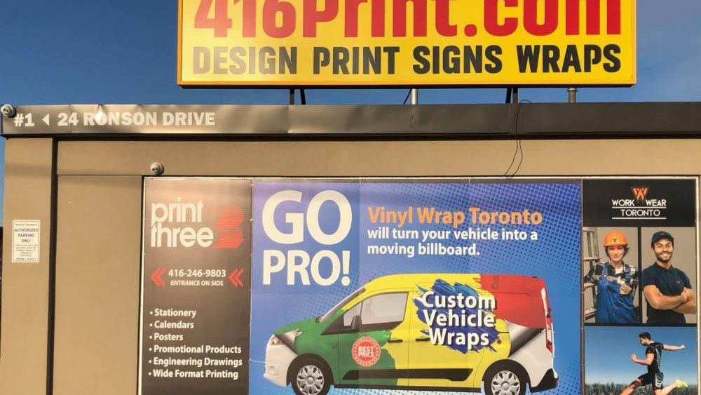 Storefront Signs - Branding Centres