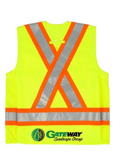 High Vis Safety vests with your logo - high viz - Branding Centres