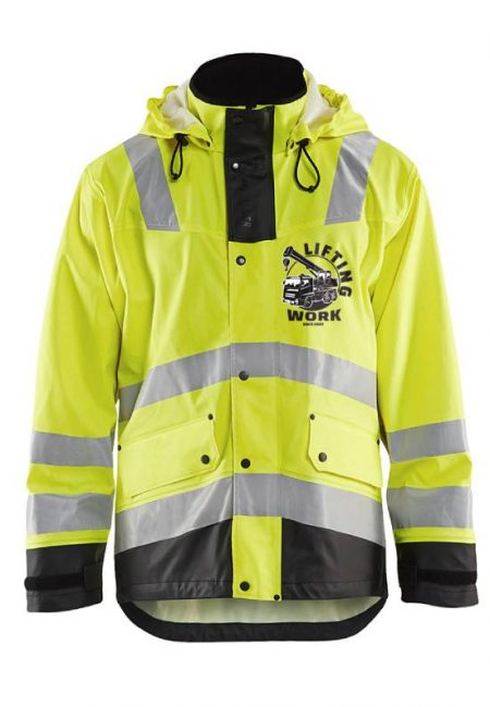 Custom decorated high vis safety vests - Your logo - Branding Centres